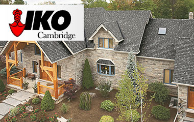 Iko Cambridge roofing products